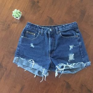 Vintage Calvin Klein mom jean shorts high waisted